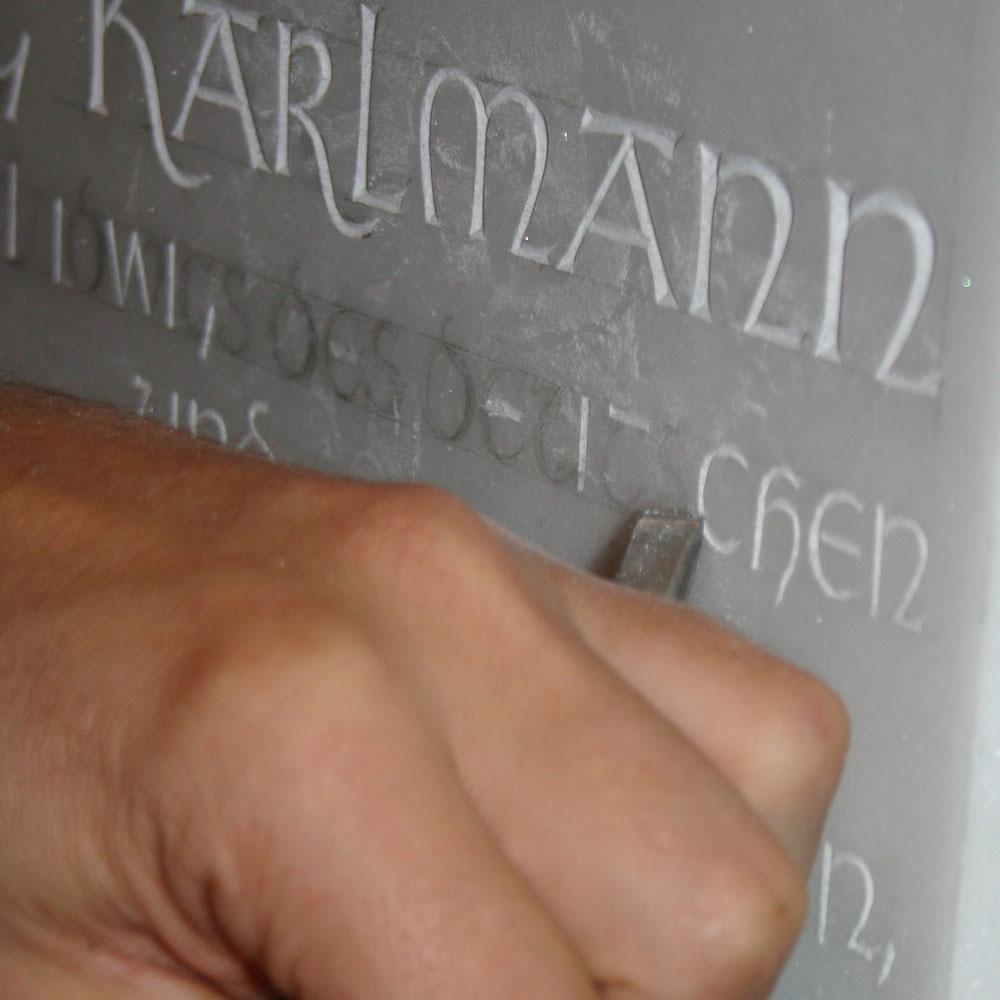 Gedenktafel König Karlmann