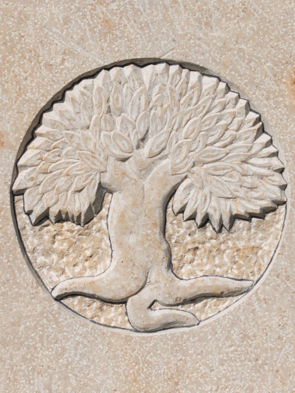 "Stele ""Lebensbaum"""
