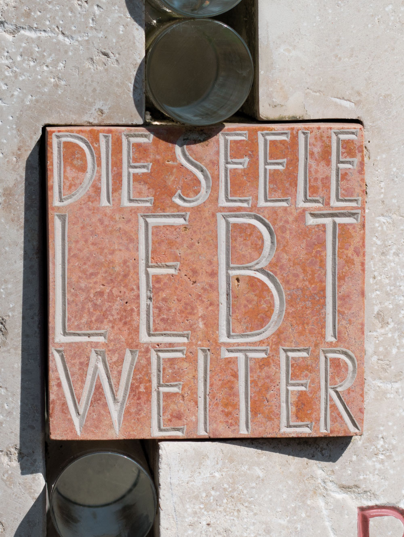 """Urnenstein """"Seele"""""""