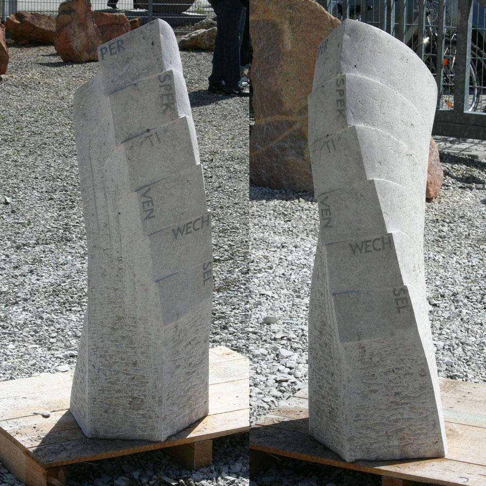 """Skulptur """"Perspektivenwechsel"""""""
