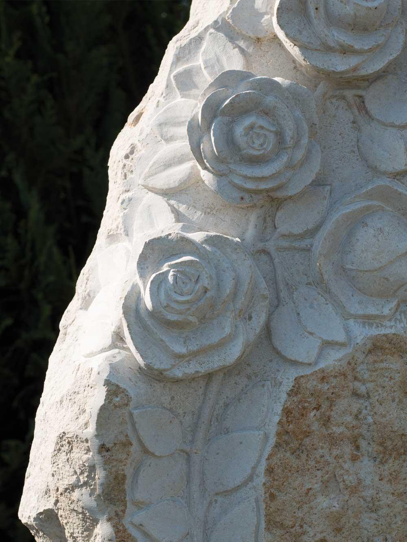 """Urnenstein """"Rose II"""""""