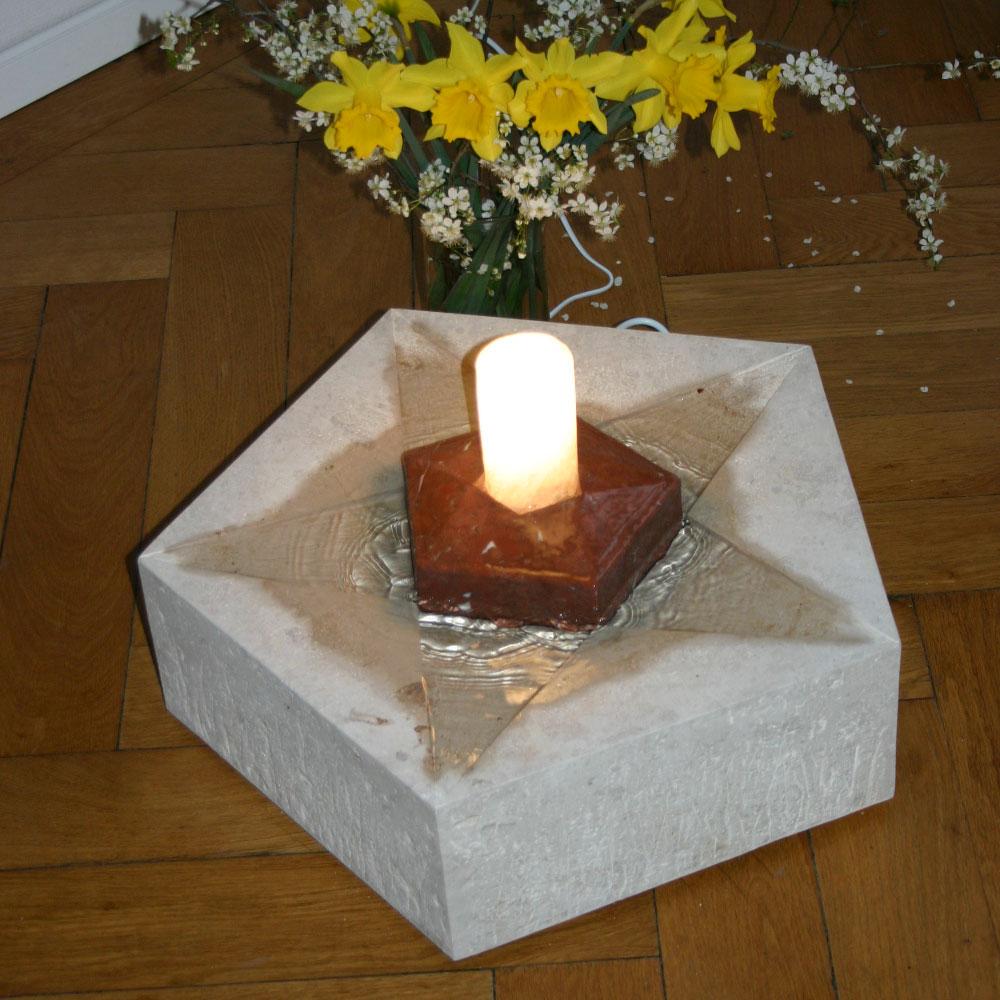 Zimmerbrunnen Pentagramm