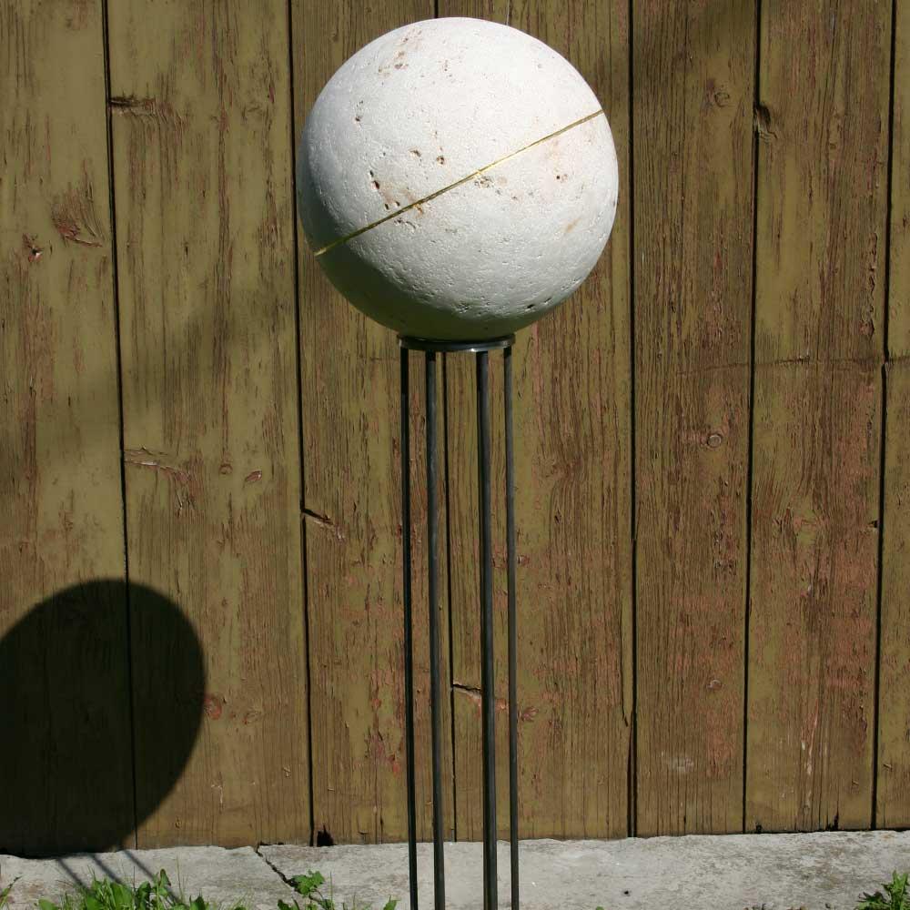 """Skulptur """"Kugel"""""""